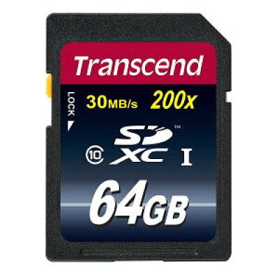Transcend SDXCカード TS64GSDXC10