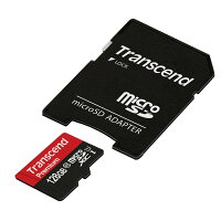 Transcend microSDXCカード TS128GUSDU1