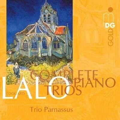 Lalo ラロ / ピアノ三重奏曲第1-3番 Trio Parnassus 輸入盤