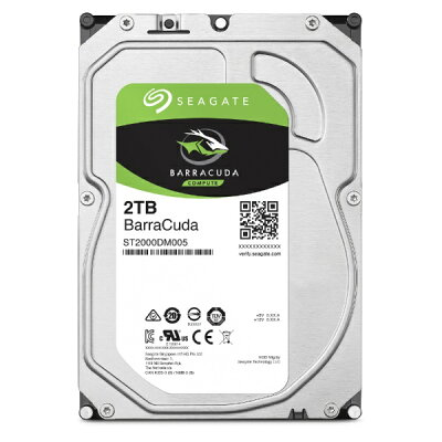 Seagate BarraCuda HDD ST2000DM005