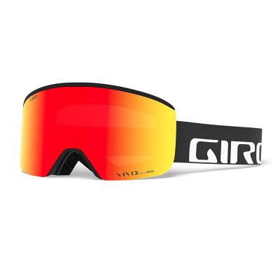 ジロ GIRO メンズ AXIS AF アクシス アジアンフィット スノーボードゴーグル Black Wordmark Vivid Ember 37/Vivid Infrared58 70832