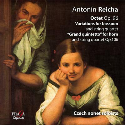 ライヒャ レイハ / 八重奏曲、ファゴットと弦楽四重奏のための変奏曲、 グラン・クインテット チェコ九重奏団 輸入盤
