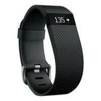 FITBITウェアラブル活動量計 リストバンドタイプ ワイヤレス活動量計+心拍計リストバンド Fitbit ChargeHR Large FB405BKL-JPN Black ブラック FB405BKLJPN
