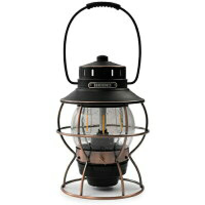 ベアボーンズリビング Barebones Living キャンプ用品 レイルロードランプLED Railroad Lantern アンティークブロンズ 20230010007000