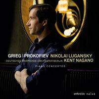 Grieg グリーグ / グリーグ:ピアノ協奏曲、プロコフィエフ:ピアノ協奏曲第3番 ルガンスキー、ナガノ&ベルリン・ドイツ響 輸入盤