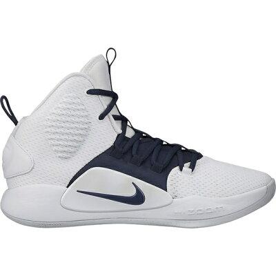 ハイパーダンク X TB PROMO バスケットボールシューズ サイズ:25.5cm カラー:ホワイト×カレッジネイビー #AT3866-105