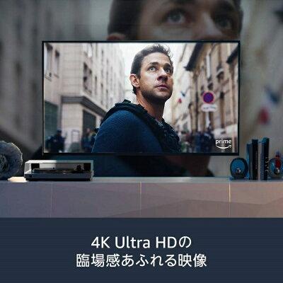 Fire TV Stick 4K - Alexa対応音声認識リモコン付属 netflix hulu youtube AbemaTV DAZN dTV