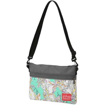 マンハッタンポーテージ Manhattan Portage ショルダーバッグ Liberty Fabric Harlem Bag グリーン/グレー MP1084LBTY19SS 5013