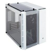 0d20ca21a3 CORSAIR コルセア 280X Tempered Glass White CC-9011136-WW Micro-ATX対応キューブ