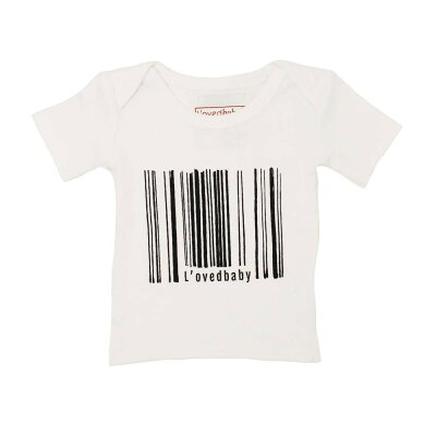 L'ovedbaby Signature Collection グラフィック ショート スリーブ Tシャツ sg-305 ホワイト・18~24ヵ月