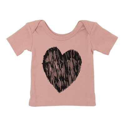 L'ovedbaby Signature Collection グラフィック ショート スリーブ Tシャツ sg-305 モーブ・6~9ヵ月