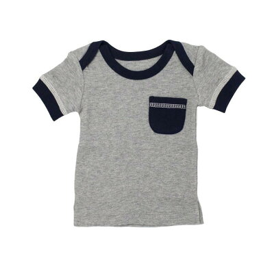 L'ovedbaby Heather Collection Tシャツ ht-305 ネイビー・6~9ヵ月