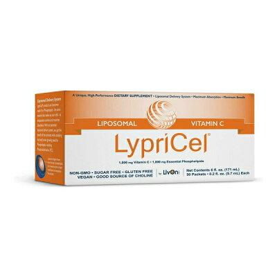 LypriCel社 リポゾーマル ビタミン C 1パック0.2fl oz (5.7 ml)