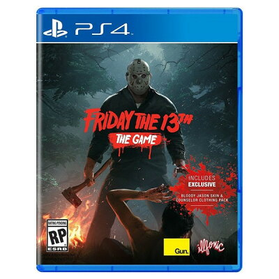 PS4 北米版 Friday The 13th Game Gun Media