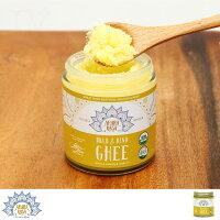 アハラ ラーサ オーガニック ギー ガーリックレモンギー 4oz Ghee 精製バター