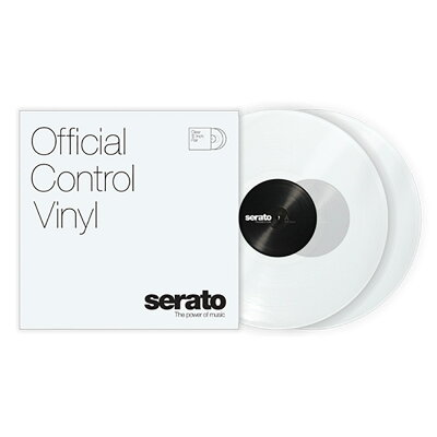 Serato Control Vinyl Performance Series (CLEAR)