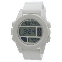 【NIXON】ニクソン メンズ 腕時計 THE UNIT ユニット ホワイト シリコンベルト A197-100