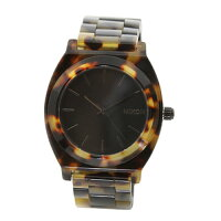 【NIXON】 レディース腕時計 THE TIME TELLER ACETATE トータス A327-646