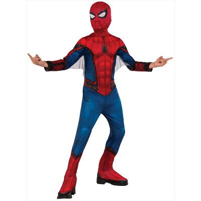 子ども用スパイダーマンホームカミングL
