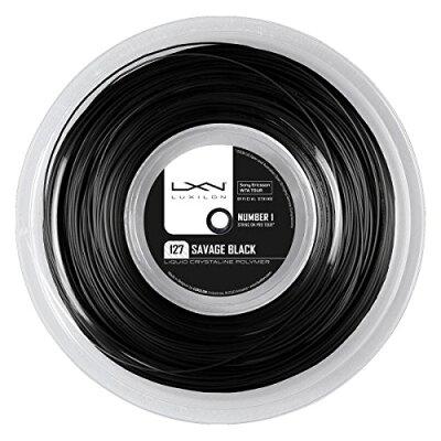 SAVAGE 127/BK 200m ROLL - WRZ902100 (テニスストリング(ロール他) ルキシロン/LUXILON)
