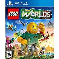 PS4 北米版 LEGO Worlds ワーナー・ホーム・ビデオ