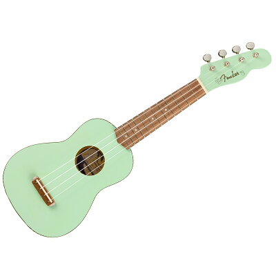 Fender ウクレレ Venice Soprano Uke, Surf Green