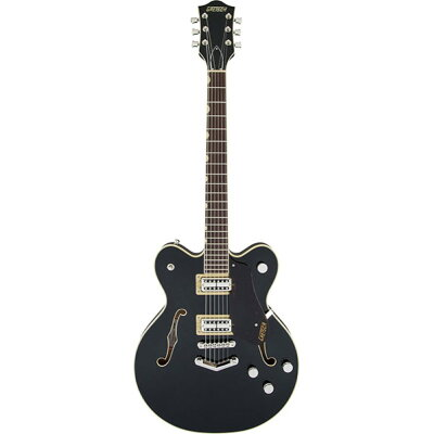 GRETSCH G6609 Players Edition Broadkaster Center Block Double-Cut Black エレキギター