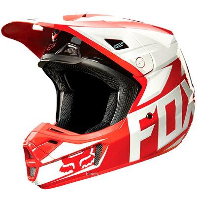 FOX フォックス オフロードヘルメット V2ヘルメット RACE RED サイズ:L 59-60cm