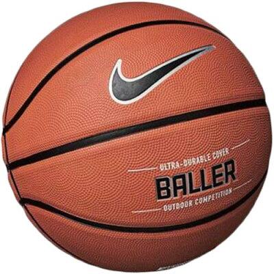 ナイキ NIKE バスケットボール ボーラー 8P アンバー/ブラック 7号 BS3009 855
