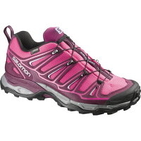 サロモン SALOMON ウルトラ2ゴアテックス X ULTRA 2 GTXR W's HOT PINK/Bordeaux/PEBBLE BLUE L37159400