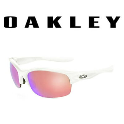OAKLEY OAKLEYサングラス Commit SQ Polished White Prizm Golf スタンダード