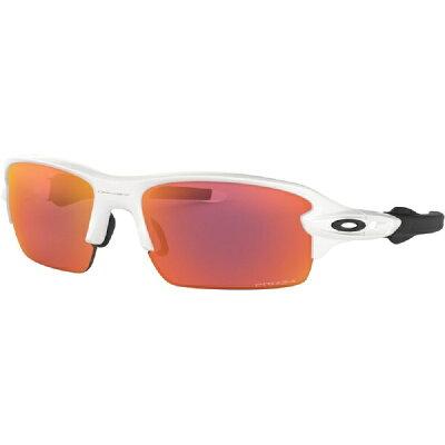 オークリー OAKLEY 子供用サングラスFLAK XS(ポリッシュドホワイト/プリズムフィールド)OJ9005-0459サングラス