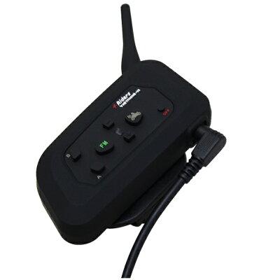インカム バイク イヤホンマイク 1台 インターコム Bluetooth ワイヤレス 無線機