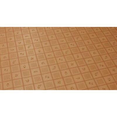 ダイニングラグ クッションフロア 長方形 約182×285cm CES6217ラグY