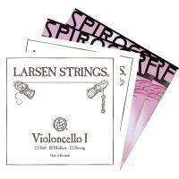 チェロ弦SET2 ラーセン+スピロコア