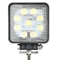 LED作業灯 27w 9連 24v 12v 広角60度 ワークライト サーチライト