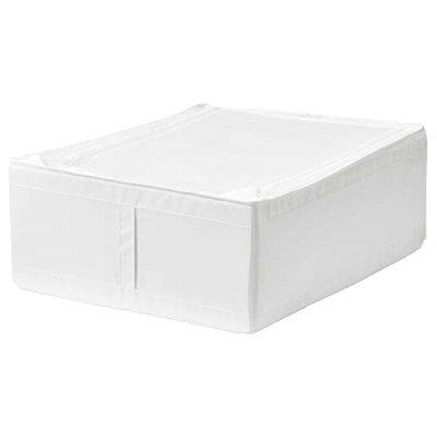 イケア 収納ボックス SKUBB ホワイト 50290361