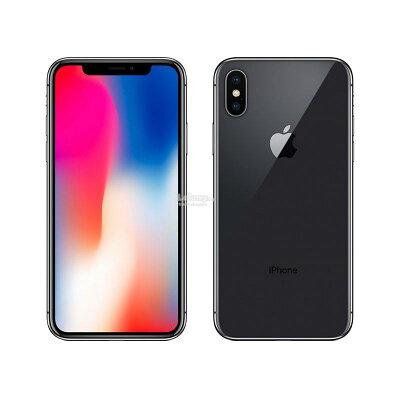 アップル iPhoneX 64GB Space Gray SIMフリー