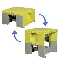 ALINCO(アルインコ) 樹脂製作業台 ステップキューブ SC50