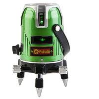 FUKUDA グリーンレーザー墨出し器 5ライン 4方向大矩ライン EK-468GJ