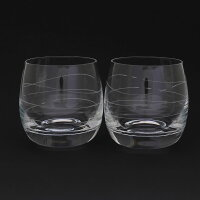 TIFFANY & Co.(ティファニー) カデンツ グラス タンブラー 215ml 2点セット