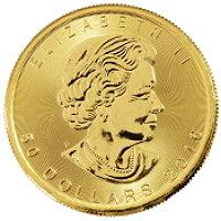 カナダ造幣局 メープル金貨 1982年~ 1/4オンス