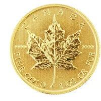 カナダ造幣局 メイプル金貨 純金 99.99% K24 1982年~ 1オンス