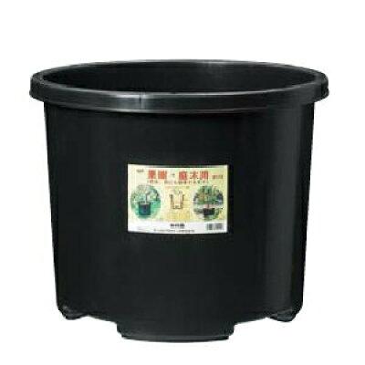 花実樹 大型プラ鉢 60L 黒