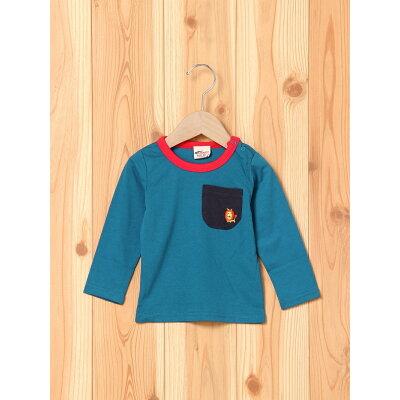 A-MACH/(K)刺繍ライオンTシャツ
