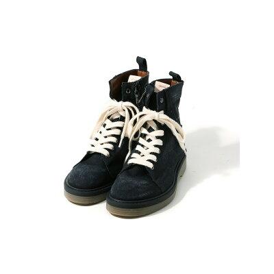 Slinky denim boots