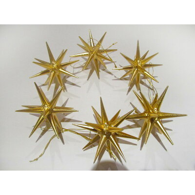 アルビンプライスラー クリスマスオーナメント ベツレヘムの星 小 木製   金