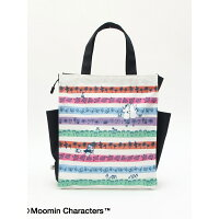 Moomin×Afternoon Tea/ラミネートトートバッグM